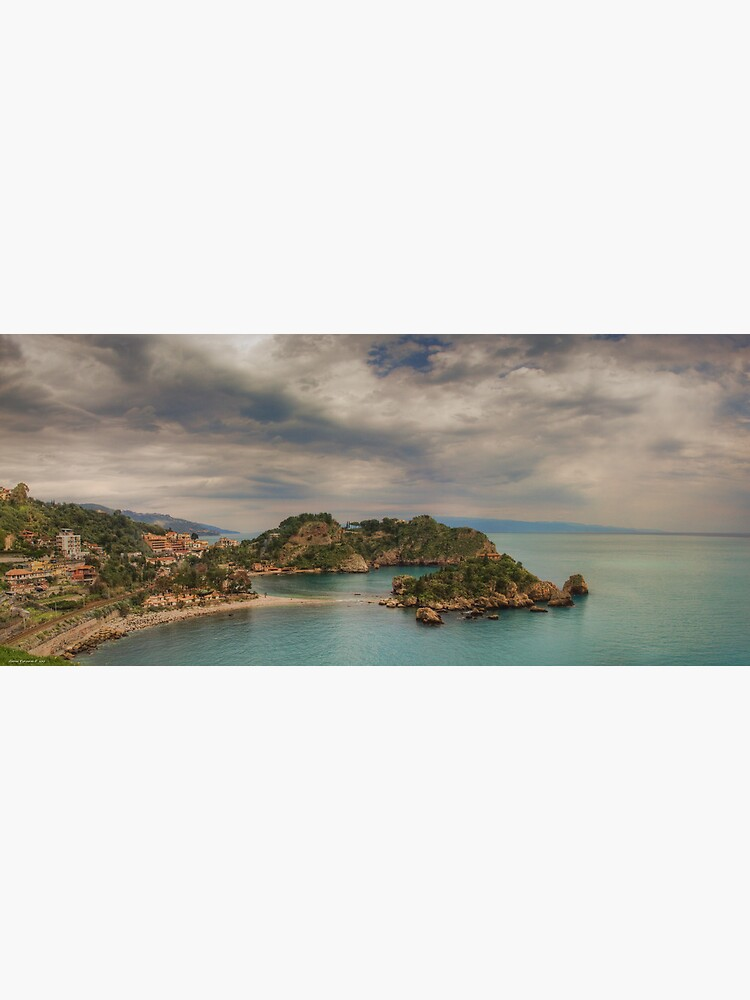 Panoramic view of Isola Bella by rapis60