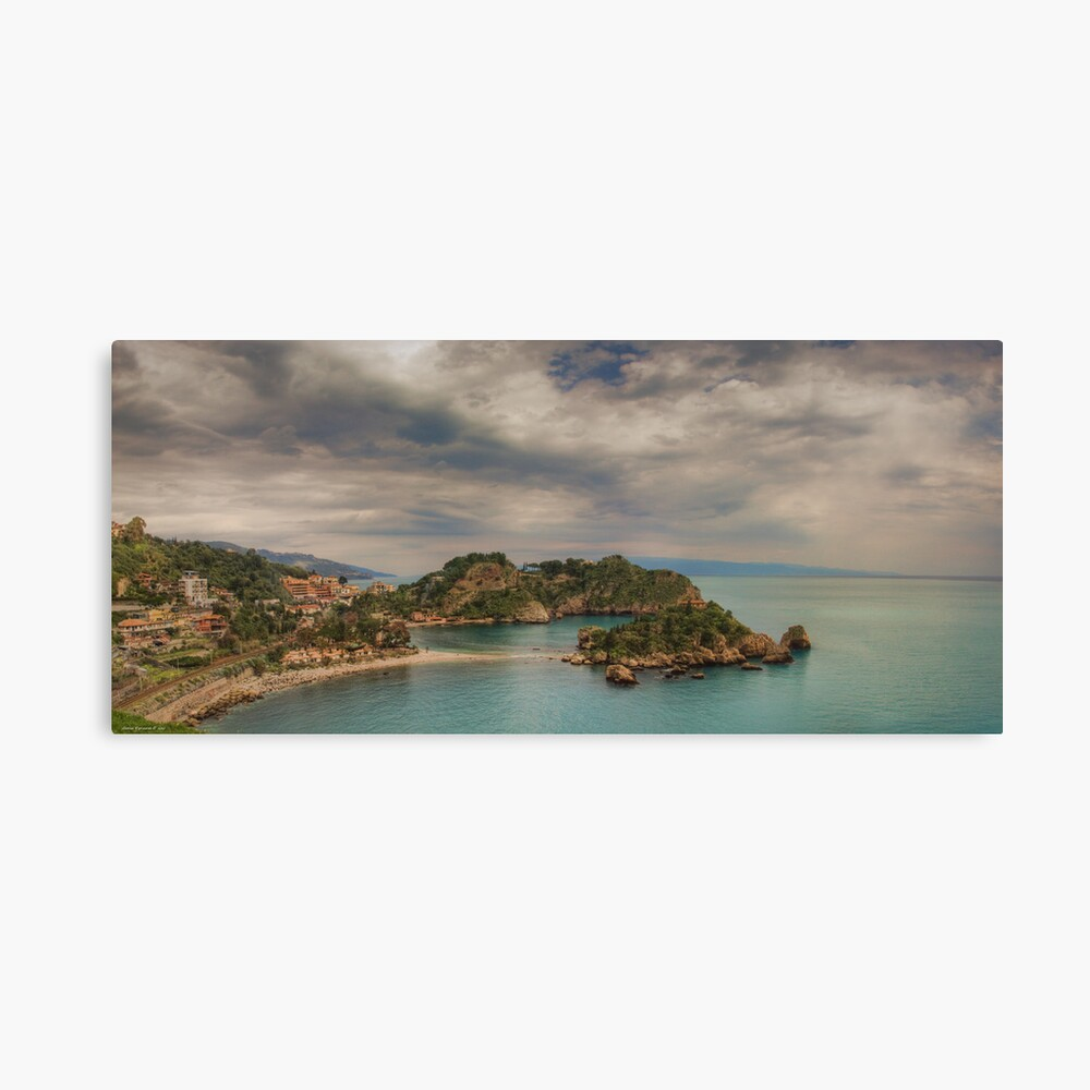 Panoramic view of Isola Bella Canvas Print