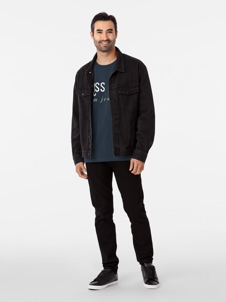 Alternative Ansicht von Küss mich, ich bin Jude Premium T-Shirt