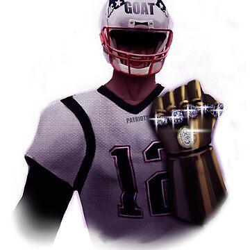 Brady Goat Gauntlet Infinity Rings  by WorldOfTeesUSA