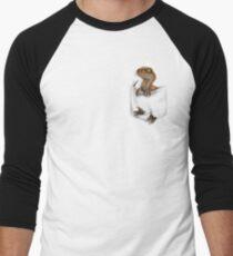 Camiseta ¾ estilo béisbol Protector de bolsillo - mundo perdido