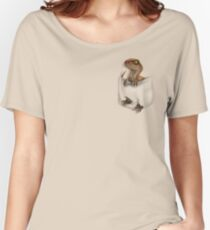 Pocket Protector - Lost World Women's Relaxed Fit T-Shirt