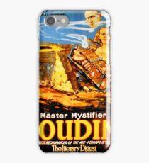 Master mystifier Houdini Rare Vintage iPhone Case/Skin