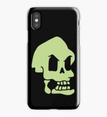 Murray, the invincible demonic skull iPhone Case