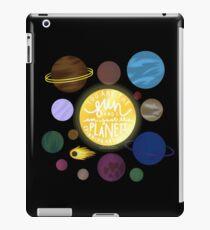 Du bist die Sonne und ich bin nur die Planeten iPad-Hülle & Klebefolie