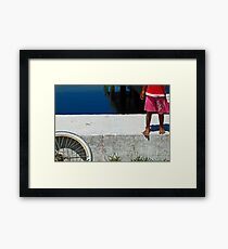Bare Feet Framed Print