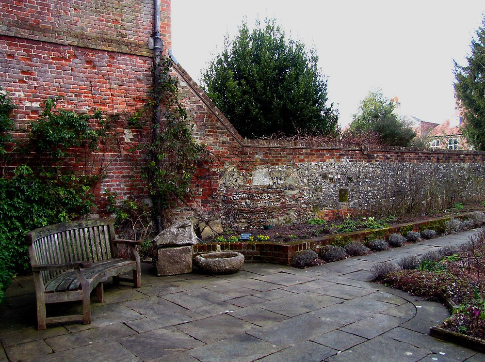 The Walled Garden by Caroline Anderson