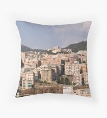 Naples I Throw Pillow