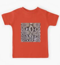 Python snake skin texture design Kids Clothes