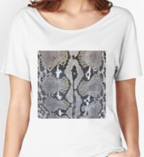 Python snake skin texture design Women's Relaxed Fit T-Shirt