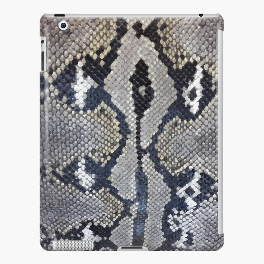 Python snake skin texture design   iPad Case & Skin