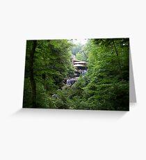 Falling Water, Pennsylvania Greeting Card