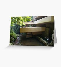 Falling Water, Pennsylvania Greeting Card