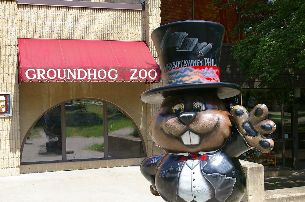 Punxsutawney Phil by klziegler