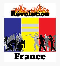 Lámina fotográfica Camiseta Revolution France - Camiseta France - Camiseta Vestes Jaunes - Camiseta Revolution - Camiseta Protest - Camiseta Protest - Camiseta Protest French
