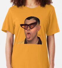 BAD BUN Slim Fit T-Shirt