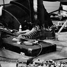 Mike Elrington's Foot & Stomp Box by Stuart Anderson