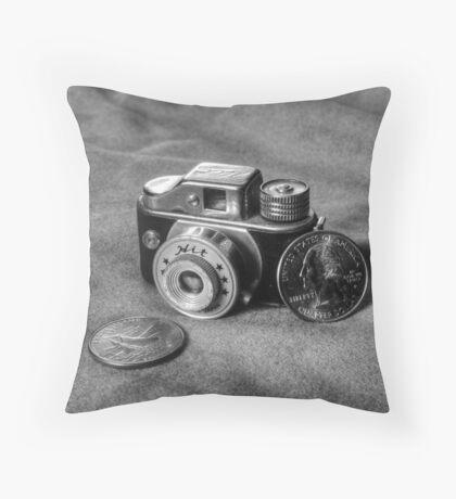 Not A 2 bit Camera Throw Pillow