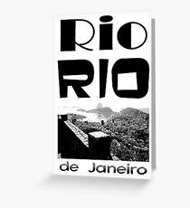 Rio Rio Greeting Card