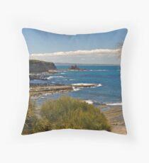 Summer at Eagles Nest, Inverloch, Victoria. Throw Pillow