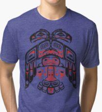 Haida - With Respect Tri-blend T-Shirt