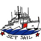 Coast Guard 270 Set Sail by AlwaysReadyCltv