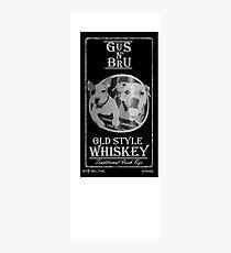 Nehmen Sie einen Schluck von Letterkennys feinstem Whisky! Fotodruck