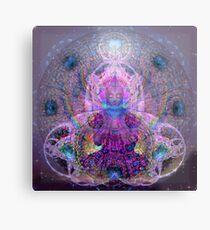 Buddha love vibration Metal Print