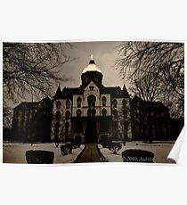 Notre Dame Main Building Poster