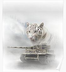 WW2 Tiger Tank Poster