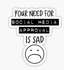 Social Media Approval Sticker