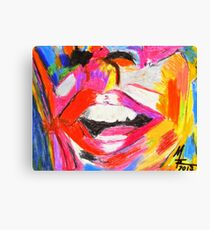 Laughter is good for the soul Canvas Print