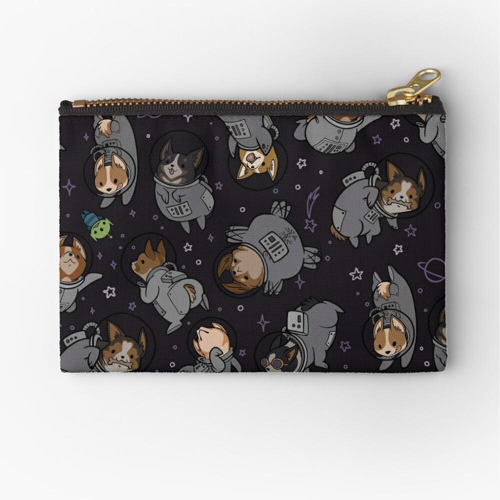 Corgis In Space! Zipper Pouch