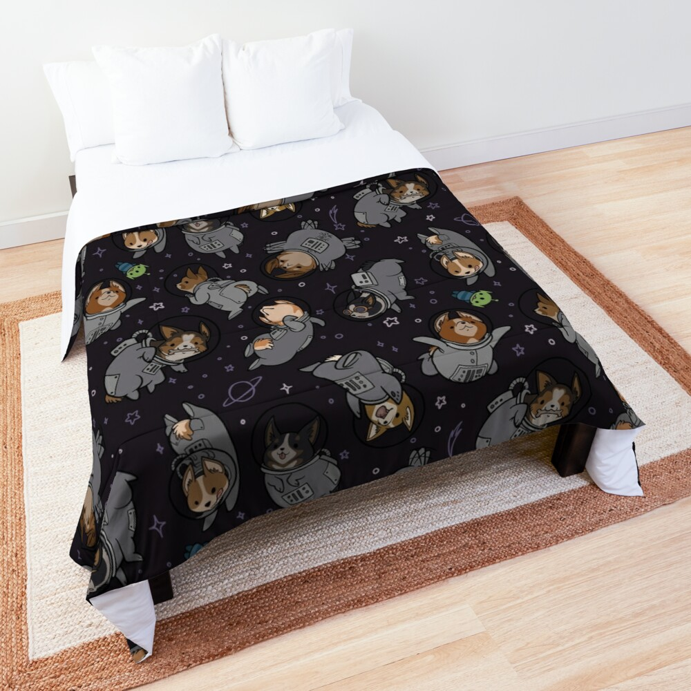 Corgis In Space! Comforter