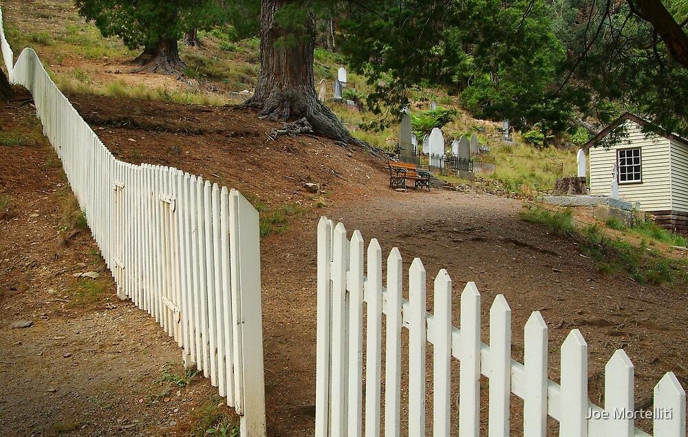 Walhalla Cemetery Entrance by Joe Mortelliti
