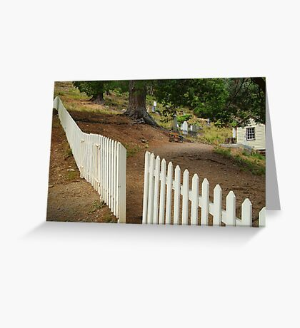 Walhalla Cemetery Entrance Greeting Card
