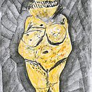 Venus of Willendorf by Leigh Blackmore