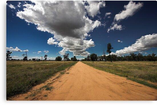 Sky Road by David Haworth