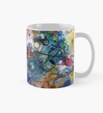Portals, ink and mixed media on paper composite panel Classic Mug