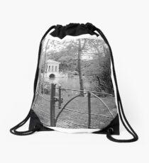 Ghostly Drawstring Bag
