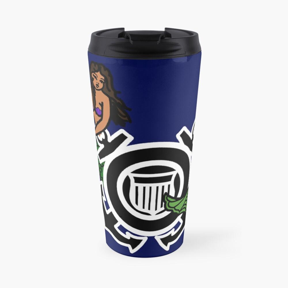 CG Shield Mermaid Travel Mug