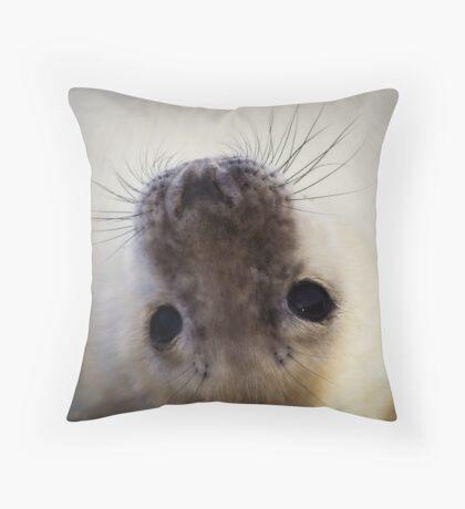 Say Awwwwwwwwwww :) Throw Pillow