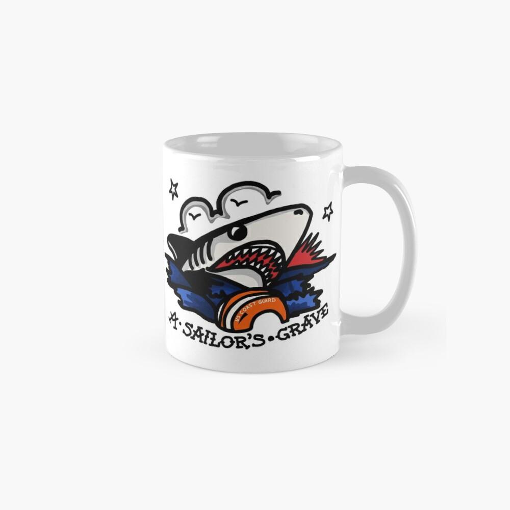 CG Sailor's Grave Shark Mug