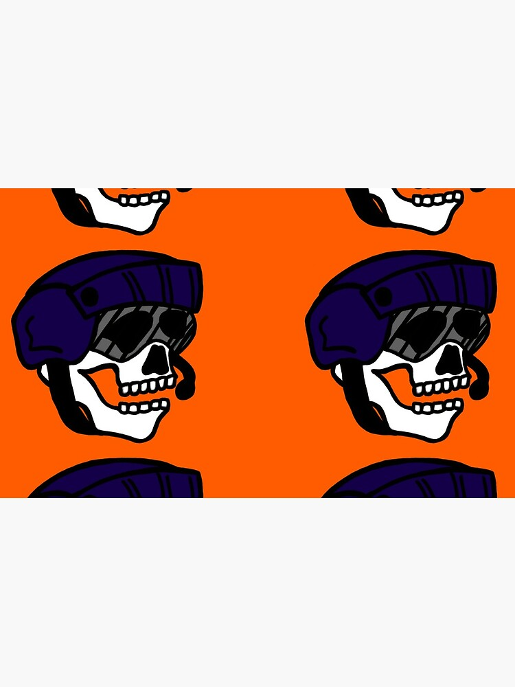 Coast Guard Skulls - Flight Mech Helmet by AlwaysReadyCltv