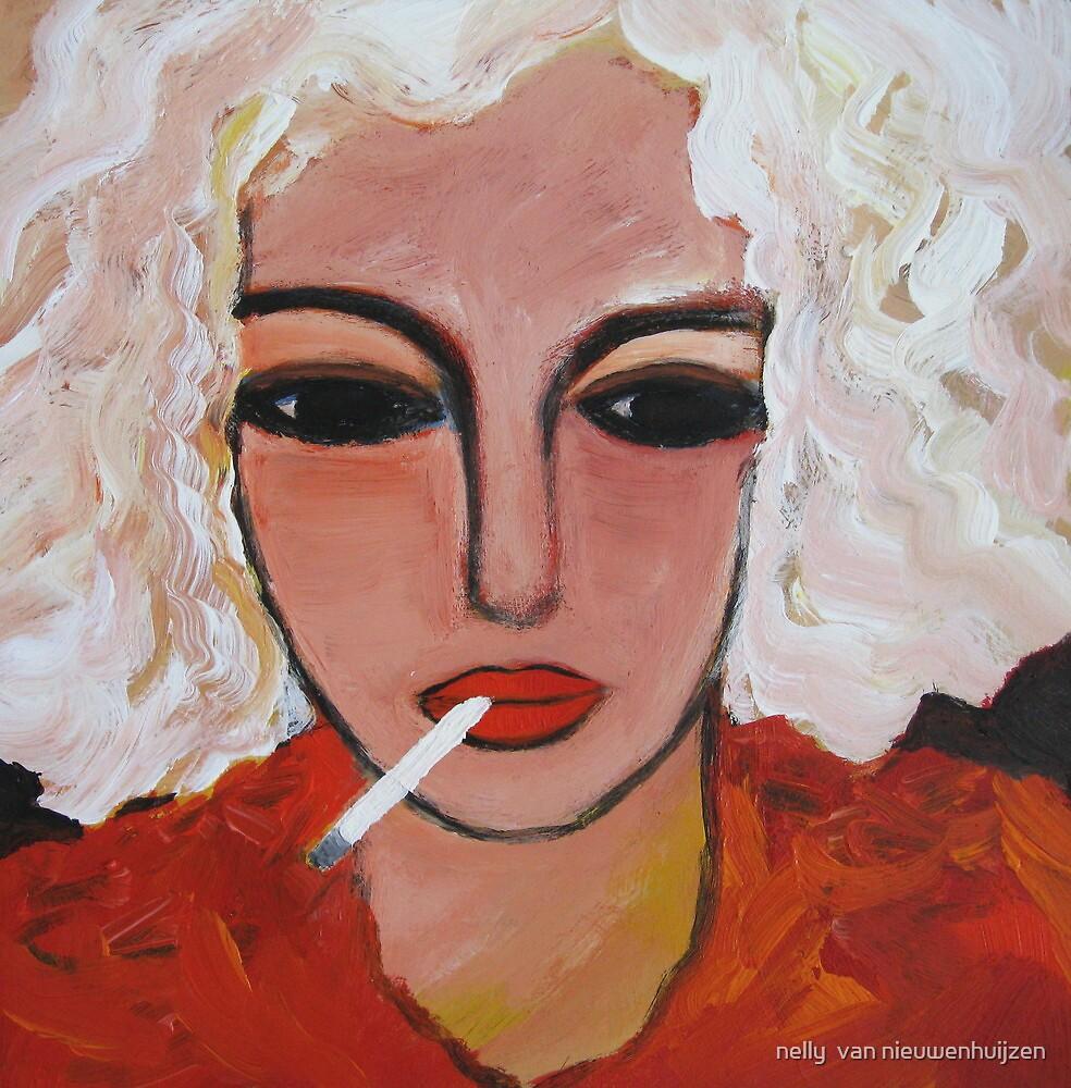 Last cigarette by nelly  van nieuwenhuijzen
