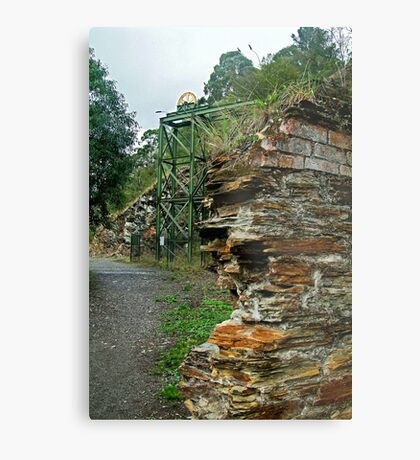 Poppet Head,Long Tunnel Extended Gold Mine, Walhalla Metal Print