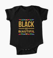 Schwarz ist schön Baby Body Kurzarm