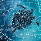 Turtle  by samcannonart