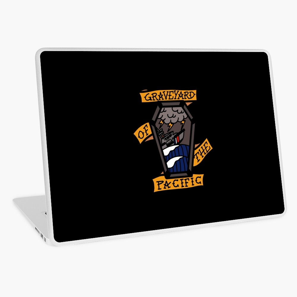 Coast Guard Graveyard of the Pacific Laptop Skin