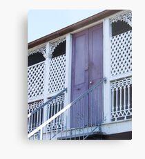 The lilac door Metal Print
